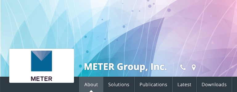 METER Group Header
